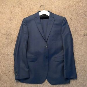 Jos A. Bank Slim Tailored Suit (Blue)